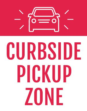 Curbside Sandwich Sign