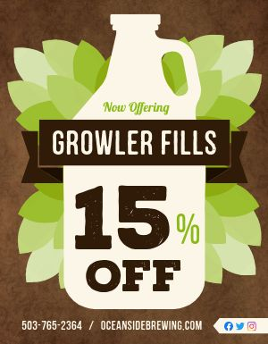 Growler Flyer