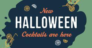 Halloween Cocktail Facebook Update