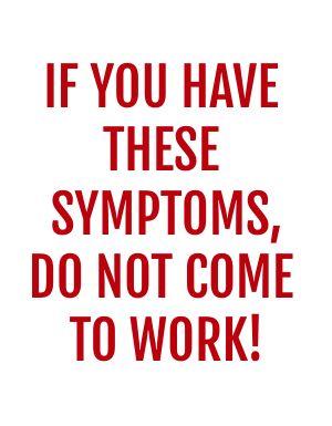 Symptoms Signage
