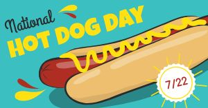 Hot Dog Facebook Post