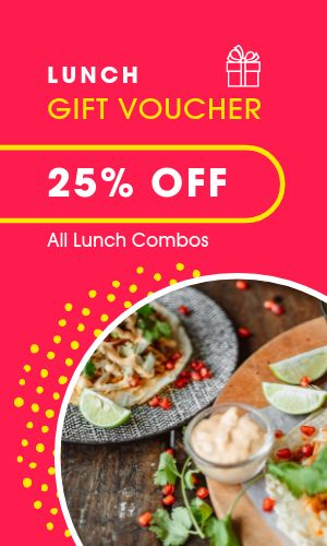 Lunch Discount Card
