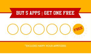 Appetizer Loyalty Card