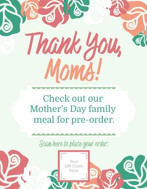 Moms Day Flyer