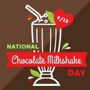 Chocolate Milkshake Instagram Post
