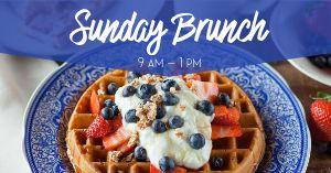 Sunday Brunch Facebook Post