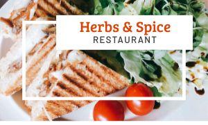 Cafe Sandwich Business Card