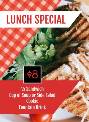 Lunch Special Tabletop Insert