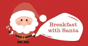 Breakfast With Santa Facebook Post