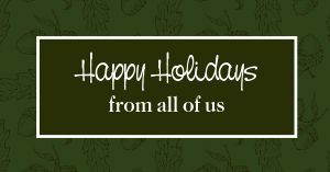 Happy Holidays Facebook Post