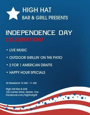 July Fourth Flyer