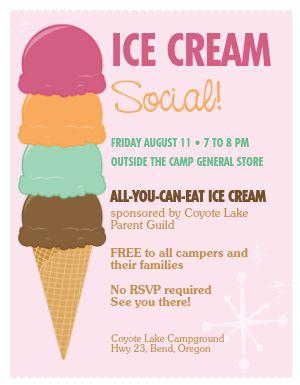 Ice Cream Flyer