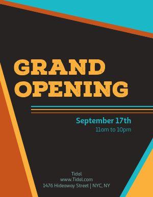 Grand Open Flyer