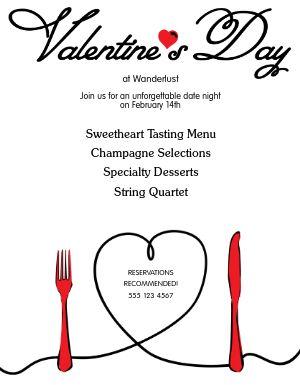 Valentines Date Flyer