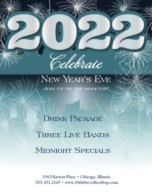 New Years Day Flyer