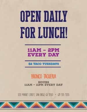Open Daily Flyer