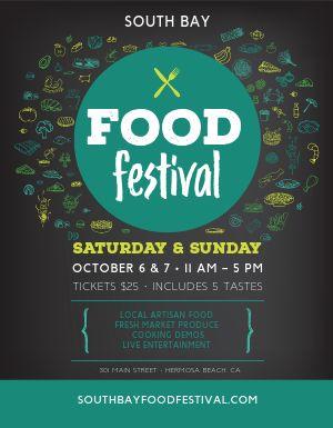 Food Festival Flyer