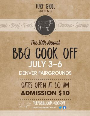 BBQ Cookoff Flyer