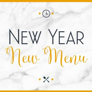 New Year New Menu Instagram Post