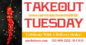 Takeout Tuesday Promo Facebook Post
