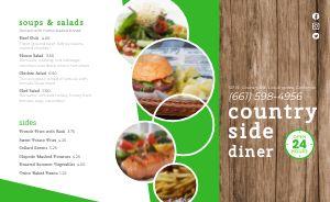 Sandwich Diner Takeout Menu