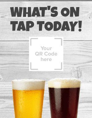 Beer QR Code Flyer