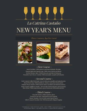 Italian New Years Menu
