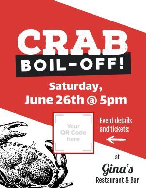 Crab Boil Announcement