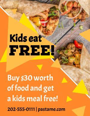 Burrito Free Flyer