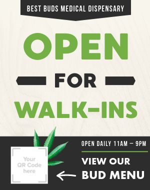 Dispensary Sandwich Board