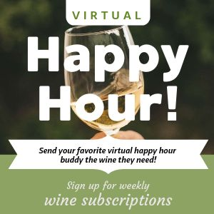 Virtual Happy Hour Instagram Post