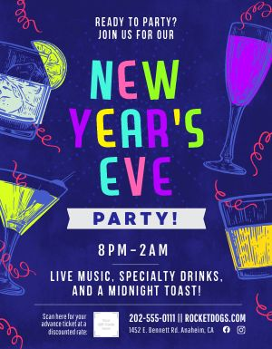 New Years Eve Sign
