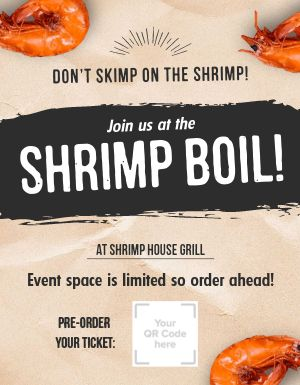 Shrimp Boil Flyer