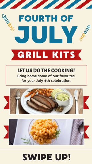 Fourth Grill Kits Facebook Story