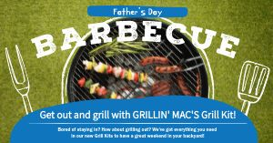 Barbecue Facebook Post