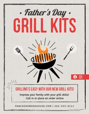 Fathers Grill Signage