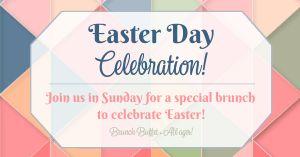 Easter Celebration Facebook Post
