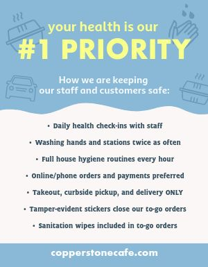 Health Checklist Flyer