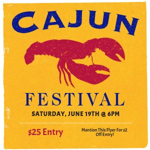 Cajun Festival Instagram Post
