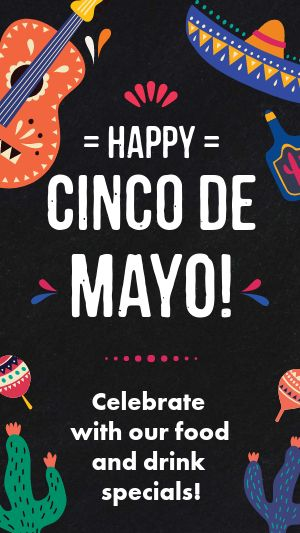 Cinco De Mayo Facebook Story