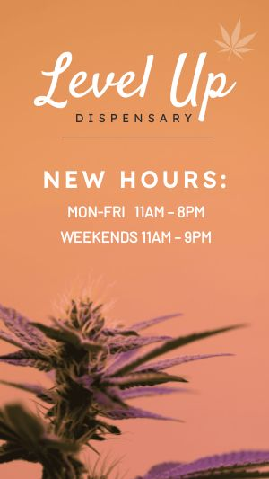 Dispensary Hours Facebook Story