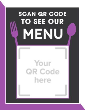 Scan QR Code Flyer