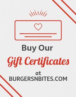 Buy Gift Certificates Flyer