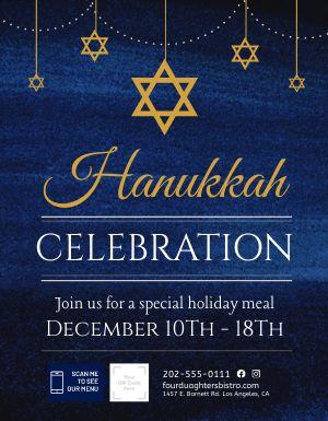Hanukkah Signage