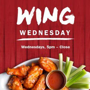 Wing Wednesday Instagram post