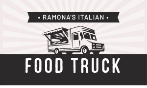 Food Truck Chef Business Card