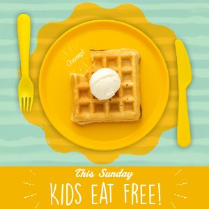 Kids Brunch Instagram Post