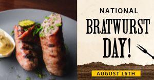 Bratwurst Facebook Update