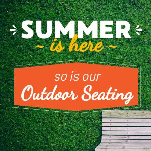 Summer Seating Instagram Update