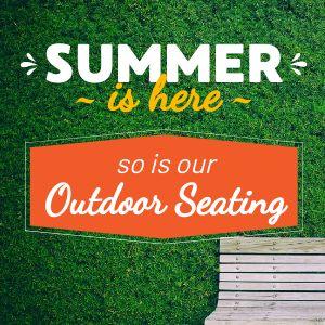 Summer Seating Instagram Update